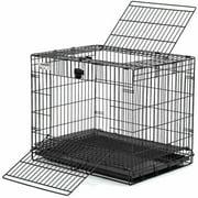 "MidWest Wabbitat Rabbit Home Rabbit Cage, 25""x19""x20.5"", Black"