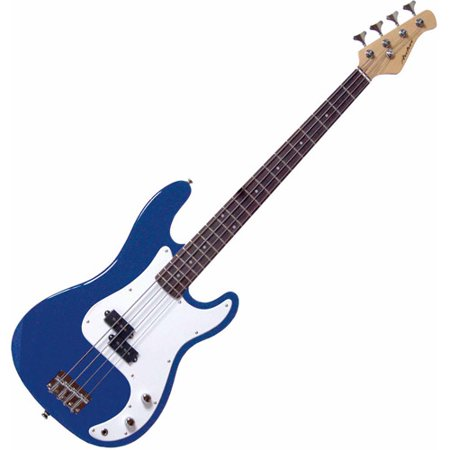 Archer SB10 P-Style Blue Electric Bass - Blue (105 Electric Bass)