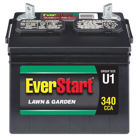 Everstart Lawn Garden Battery U1 340 Ca