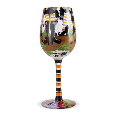 Lolita 6004429 Which Shoes? Wine Glass - Halloween Whish