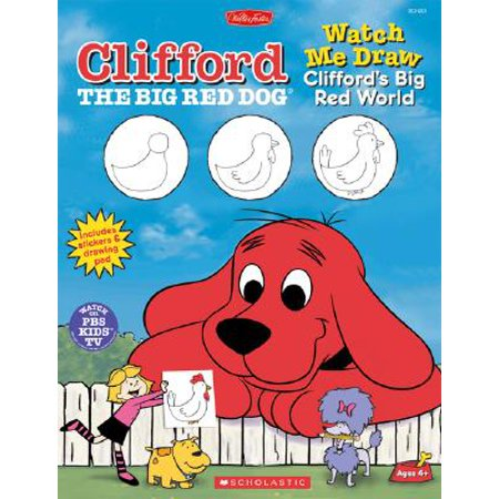 Watch Me Draw Clifford's Big Red World [With Drawing Pad]