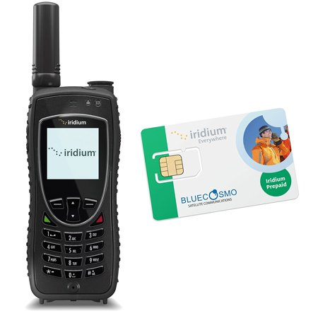 Bluecosmo Iridium Extreme Satellite Phone Kit