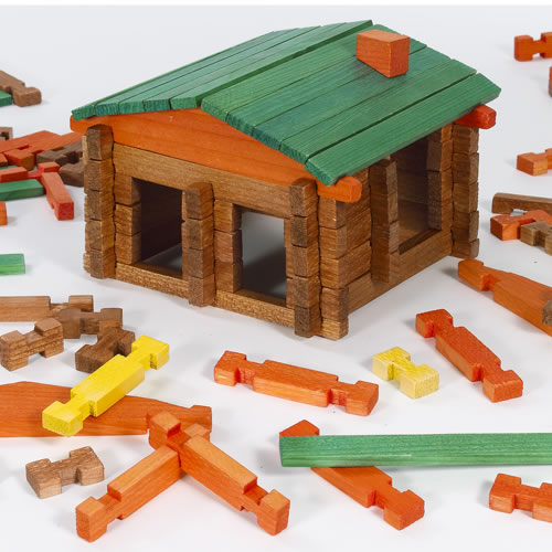 Deluxe Log Building Set