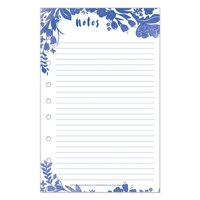 Classic Flora Lined Notepad