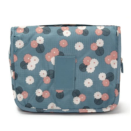 Portable Hanging Toiletry Bag/ Portable Travel Organizer Carry Tote Cosmetic Bag for Women Makeup or Men Shaving Kit with Hanging Hook for vacation  - image 2 of 6