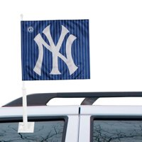 New York Yankees Double-Sided Car Flag - No Size