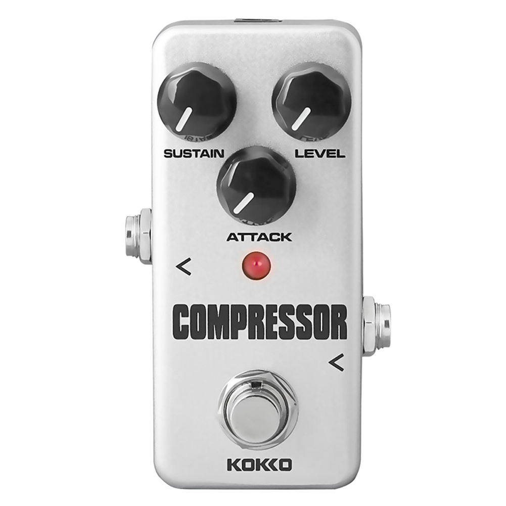 kokko fcp2 mini compressor pedal portable guitar effect pedal guitar parts. Black Bedroom Furniture Sets. Home Design Ideas