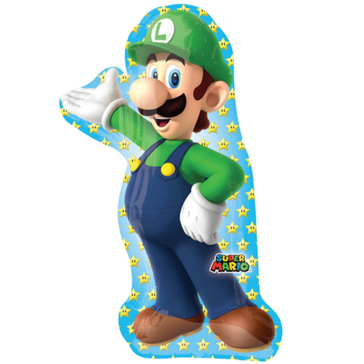 "Luiji of Mario Partner Character Foil / Mylar Balloon 38"""