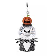 Disney Parks Nightmare Before Christmas Jack Pumpkin Snowglobe Ornament New