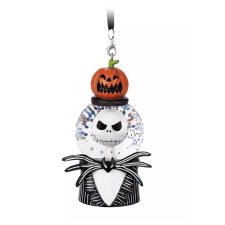 Disney Parks Nightmare Before Christmas Jack Pumpkin Snowglobe Ornament New ()