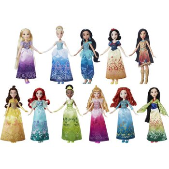 11-Pack Disney Princess Dolls