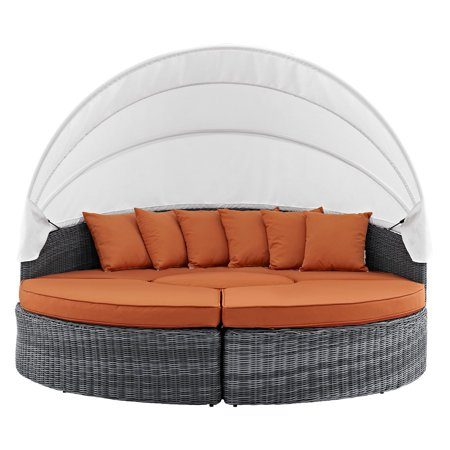Modway Canopy Patio Daybed Multiple
