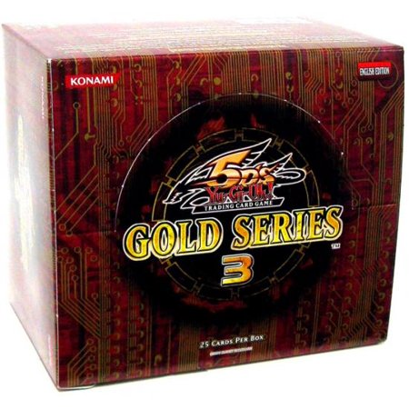 YuGiOh Gold Series 3 2010 Booster