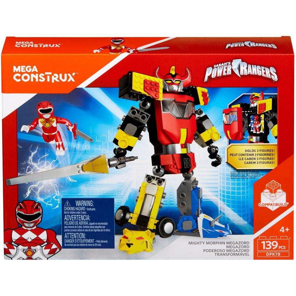 Mega Construx Power Rangers Mighty Morphin Megazord by Mattel