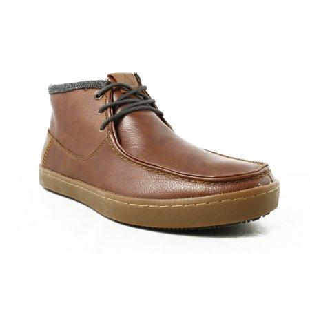 aldo  aldo mens brown oxfords casual shoes size 75 new