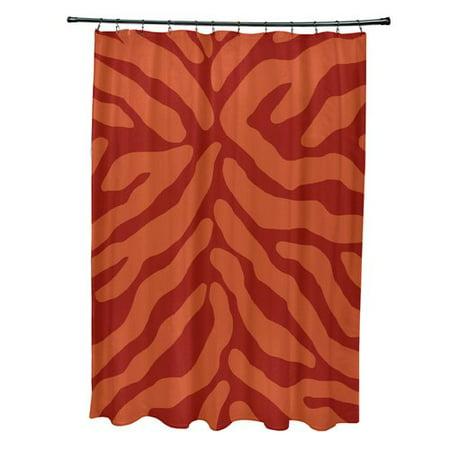 Bloomsbury Market Kam Animal Print Single Shower Curtain