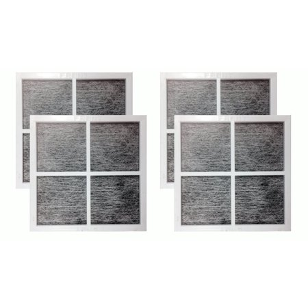 4 Pack Replacement Air Purifying Fresh Air Fridge Filters for LG LT120F ()
