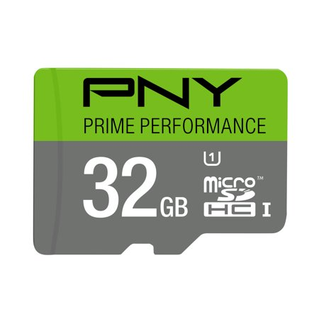 PNY 32GB Prime microSD Memory Card (Best 32gb Micro Sd Card For Android Phone)