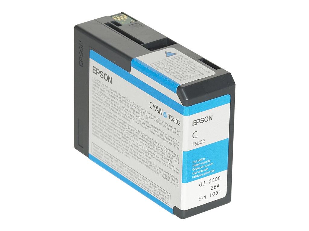 Epson T580200 UltraChrome K3 Ink, Cyan by Epson