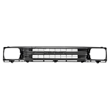 Silver Grill Assembly for 1989-1991 Toyota Pickup Grille TO1200137