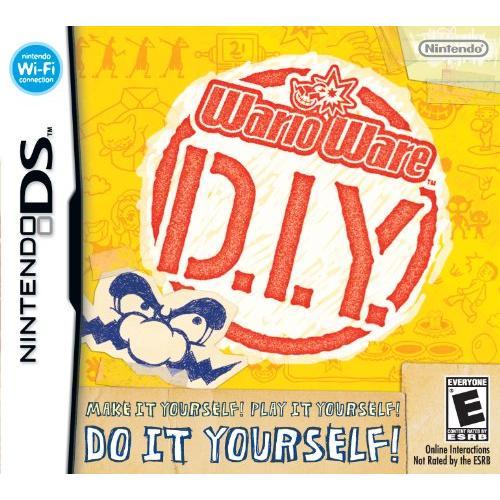 Nintendo Warioware: D.i.y. Puzzle Game - Complete Product - Standard - 1 User - Retail - Nintendo Ds (ntrpuore)