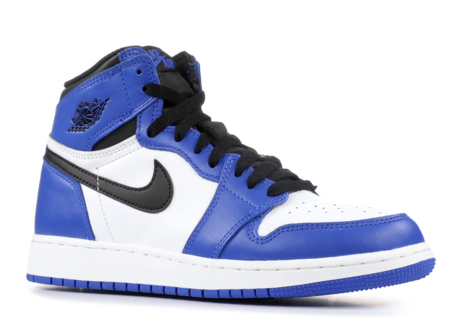 Air Jordan 1 Retro High Og Bg Gs Game Royal 575441 403 Walmart Com Walmart Com