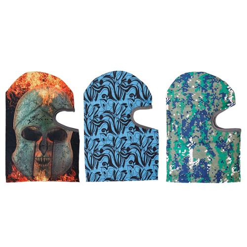 Bundle Monster 3pc Terran Design Ultra Thin Multipurpose Microfiber Balaclava