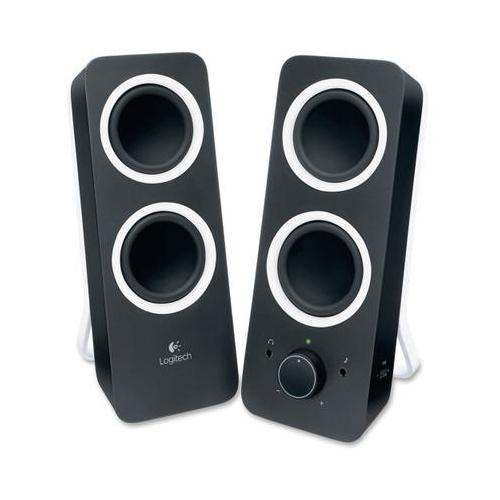 Logitech 2.0 Speaker System - Black LOG980000800