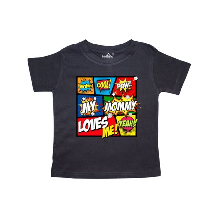 My Mommy Loves Me Superhero Toddler T-Shirt (Cheap Superhero Outfits)