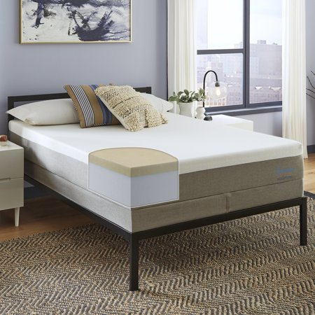 Slumber Solutions Essentials 12-inch Memory Foam Mattress Set