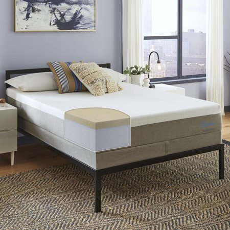 quite nice d7995 5ae78 Slumber Solutions Essentials 12-inch Memory Foam Mattress Set