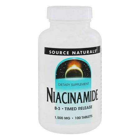 Source Naturals Source Naturals  Niacinamide, 100 ea