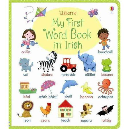 Halloween Irish Words (My First Word Book in Irish (Board)