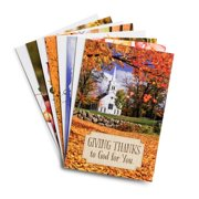 DaySpring  -  Thanksgiving Assortment - 24 Seasonal Boxed Cards