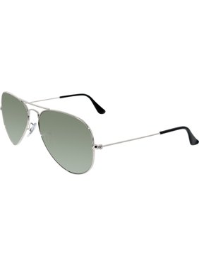 Ray-Ban Men's Polarized Aviator RB3025-003/59-58 Silver Aviator Sunglasses