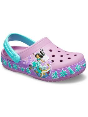 Crocs Girls' Junior Fun Lab Jasmine Band Clog
