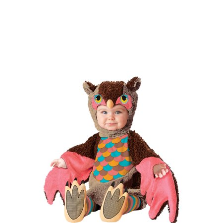 California Costume Collection Owl Darling Halloween Costume for Babies, Includes Hood