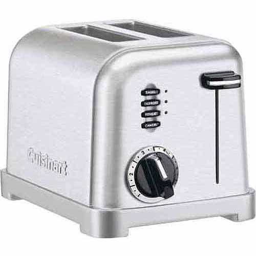 Cuisinart 2-Slice Metal Classic Stainless Steel Toaster