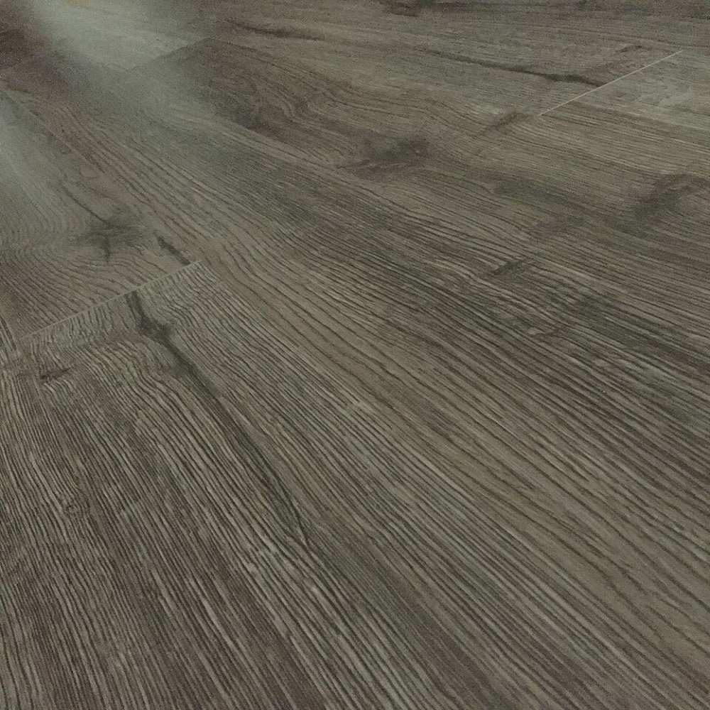 Grey Coal Oak #1122 12 mm Thick x 4.96 in. Wide x 48 in. Length AC3 Click-Locking Laminate Flooring Plank (16.48 sq. ft. / case)