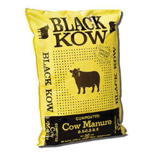 Black Kow Manure, 50 lbs