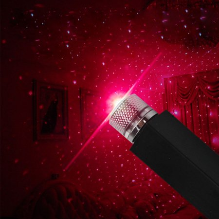 Saris Roof (Romantic Auto Roof Star Projector Lights, Flexible Romantic Galaxy USB Night Lamp Fit All Cars Ceiling Decoration Light Interior Ambient Atmosphere -No Need to Install)