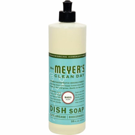 Mrs. Meyer's Liquid Dish Soap - Basil - 16 Oz - image 1 of 1