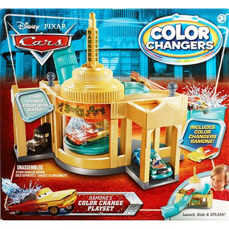 Cars Ramone S House Of Body Art Color Shifters Playset