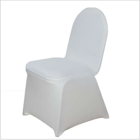 - quasimoon beige / ivory form fitting stretch fabric full chair cover by paperlanternstore