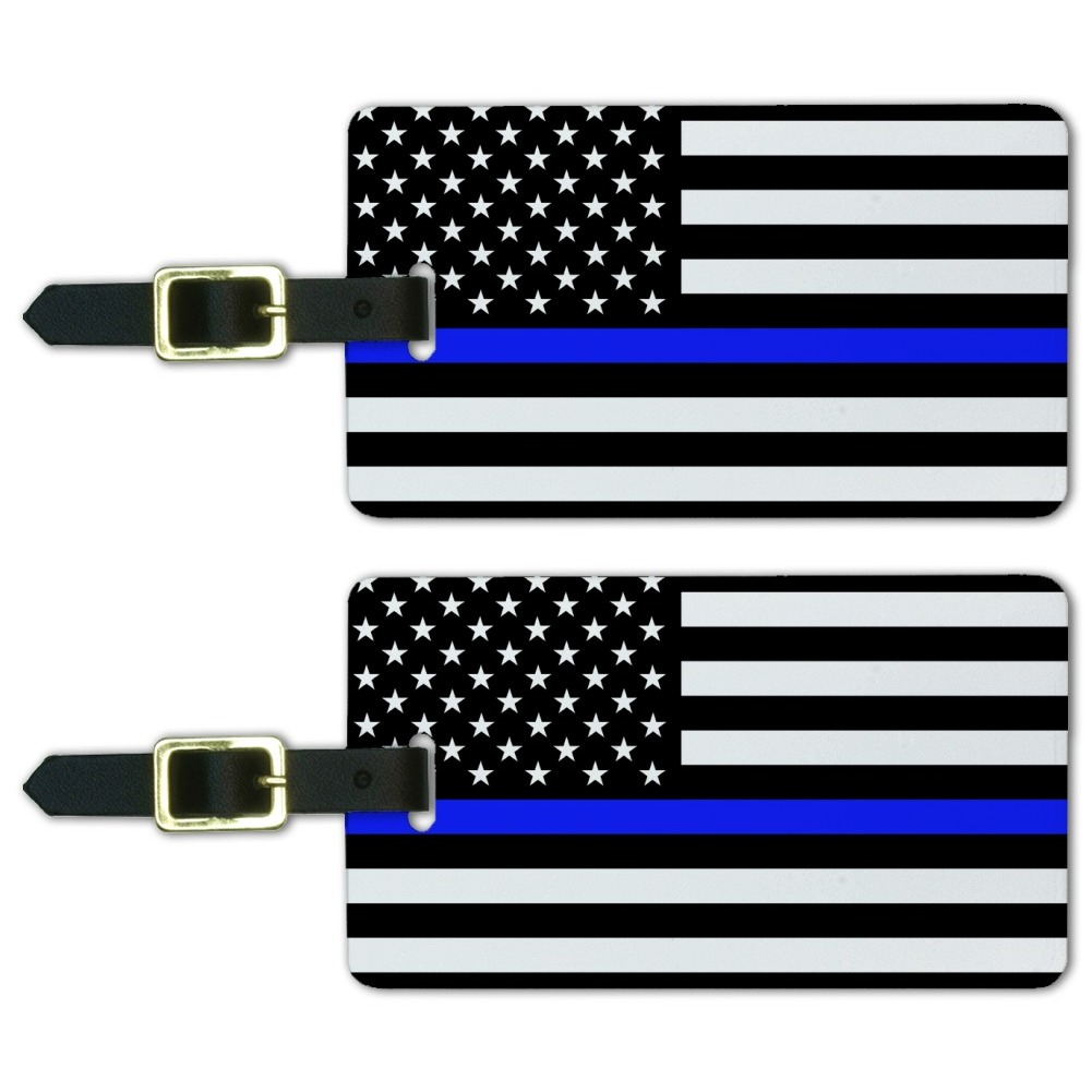 The United States National Country Flag Round Wood ID Tag Luggage Card Suitcase Travel Accessories coloured luggage labels