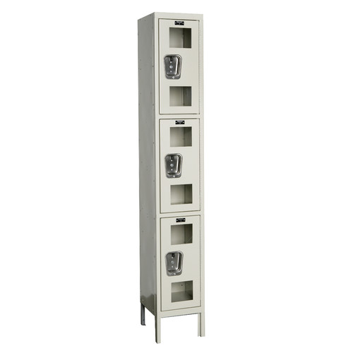 Hallowell Safety-View 3 Tier 1 Wide Box Locker