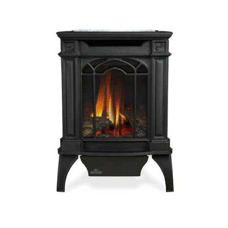 Napoleon GDS20SB 20000 BTU Free Standing Direct Vent Natural Gas Stove with Safe - Napoleon Direct Vent Stove