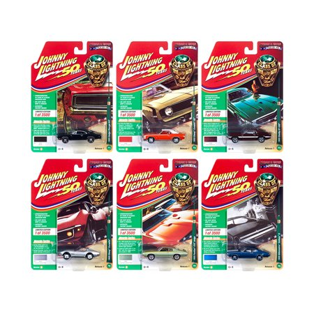 Muscle Cars USA 2019 Release 1, Set B of 6 Cars
