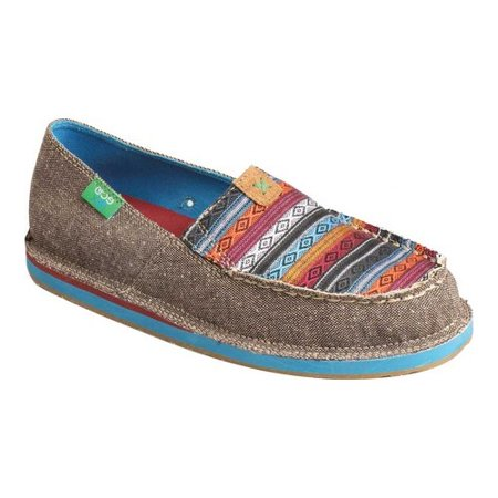 Driver Moc Loafers Shoes - Women's Twisted X WCL0005 ECO TWX Driving Moc Loafer