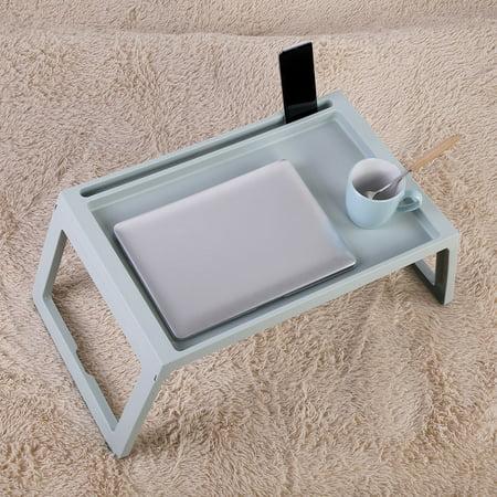 Foldable Desk Breakfast Bed Table Computer Laptop Holder Portable Serving Tray, Portable Table, Foldable Desk